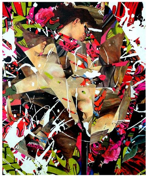 Charwi, oleo sobre lienzo 100cm x 100cm - 2015.
