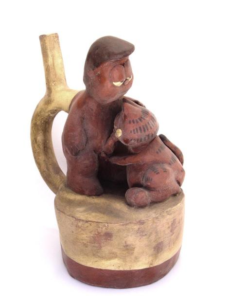 S/T, cerámica policromada. 2008