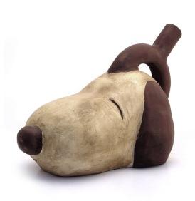 Snoopy, cerámica policromada. 2008