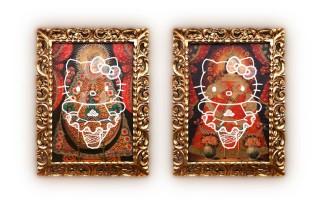 Say Hellow, Oleo sobre lienzo 80cm x 60cm(c/u) - 2014.